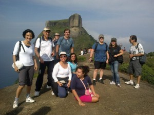 Caminhada e meditação na Pedra Bonita RJ