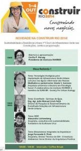 Cartaz do debate Feira Construir RJ