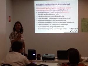 Dando aula em Manaus Sustentabilidade Urbana