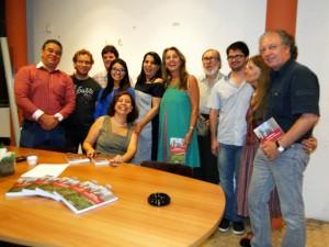 Lançamento do livro no IAB-PE