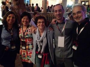 TED x com Cecília Alex Dani Pierre